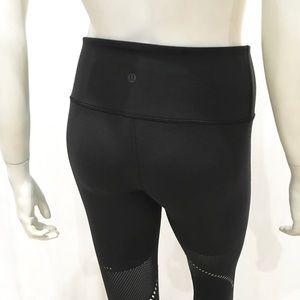 lululemon athletica Pants - Lululemon Woman's Black Ankle Leggings